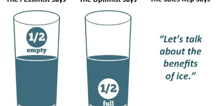 FDW: Optimist, Pessimist und Sales Rep treffen sich in einer Bar…