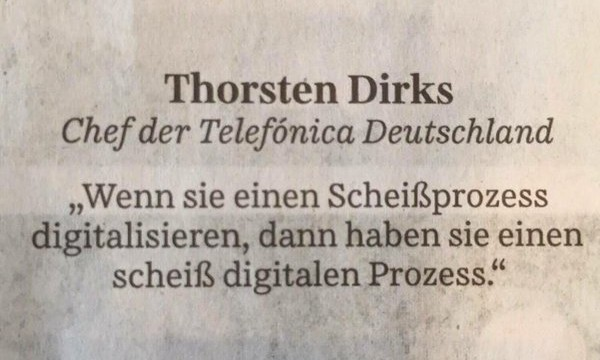 FDW: Der digitale Scheiss-Prozess